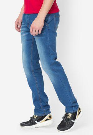 Quần jeans Jeanswest tight fit xanh dương đậm