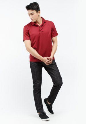 Quần jeans Lutz ống đứng màu đen